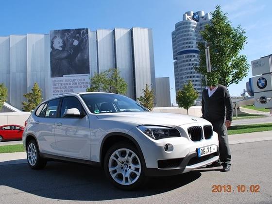 Abholung in der BMW-Welt