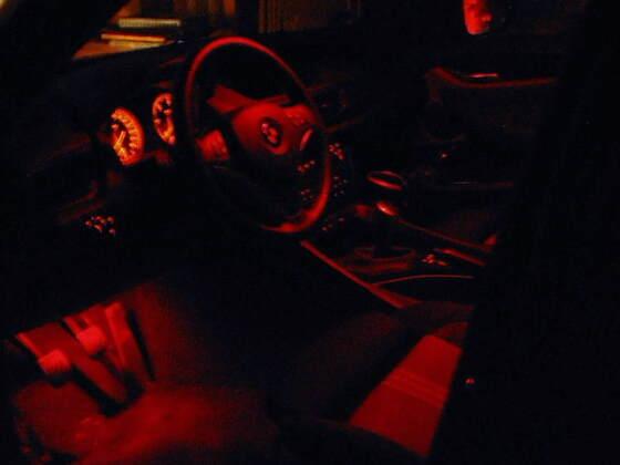 beleuchtung innen rot