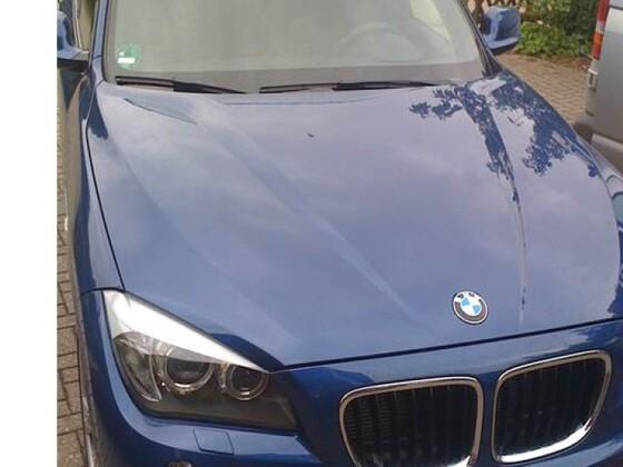BMW X1 xdrive 18d Le Mans Blau M Sport (BMW X1 - Baureihe E84)